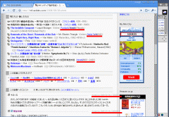 Google Chrome の画面
